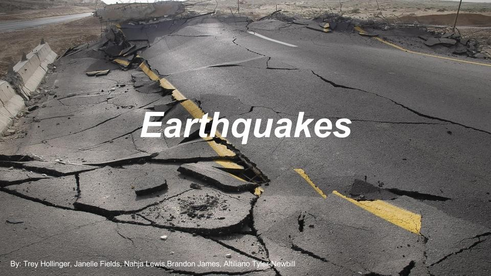 Earth Quakes- Environmental Science